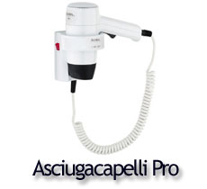 Asciugacapelli per hotel Aliseo | Hotel hairdryers Aliseo